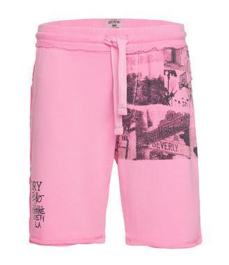 kraťasy CCD-1805-1482 neon pink