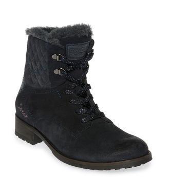 Semišové boty SCU-1755-8946 dusty black