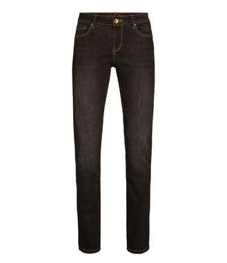 Tmavě šedé strečové džínové kalhoty
