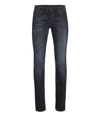 Tmavě modré džinové kalhoty s nádechem černé