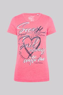 Tričko SP2100-3369-43 neon rosa