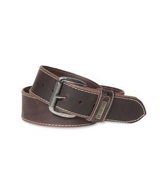 Kožený pásek 999-6112 dark brown