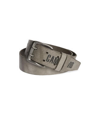 Pásek kožený CCU-9999-8423 grey