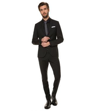 Černé oblekové sako